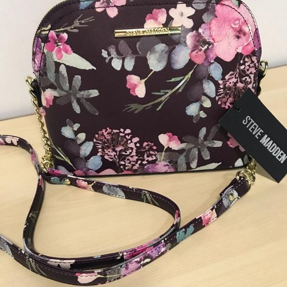 Steve Madden Bags Bmarilyn Dome Crossbody Floral Poshmark